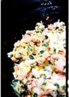 豚ひき肉と野菜の卵とじ丼