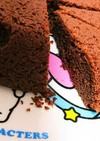 HMを使った炊飯器チョコケーキ