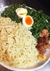 パセリたっぷり冷麺(*^^*)♪