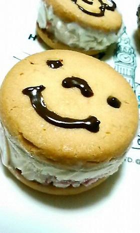 夏にぴったり♪アイスサンドクッキー☆