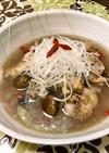 雑穀米入りサムゲタン風スープ♪