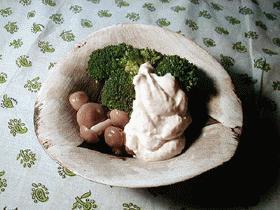 温野菜&白和えソース