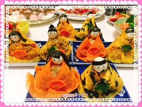 ひな祭り おひなさま寿司 2017