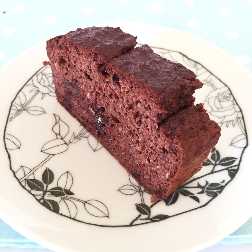 低糖質!おからチョコパウンドケーキ