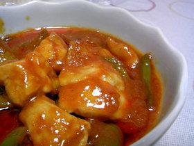 鶏モモ肉のケチャップ煮(@'Д'p簡単♥