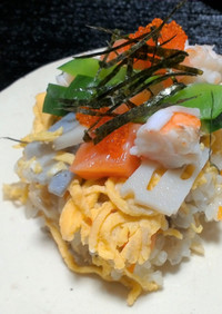 ひな祭りに!色鮮やか具だくさんちらし寿司