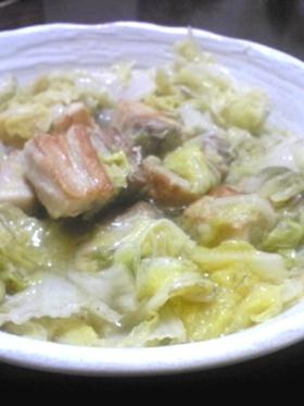 とろーり☆白菜と豚バラ煮