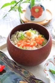 腎臓病食にも 野菜たっぷり生姜ごはんの写真