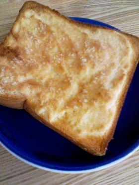 メロンパンみたいなトースト