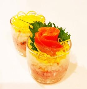 カップちらし寿司☆簡単♡