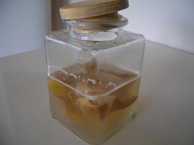 ECO酵母☆梨の芯と皮でつくる酵母