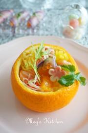 御祝いやおもてなしに♬みかん寿司の写真