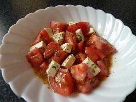 とっても美味しいトマトサラダ!(^^)!