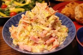 白菜とハムのコールスローサラダ♡