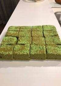 焼きっぱなしのケーキ5・グリーン