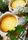 ココットでヨーグルトメイプルチーズケーキ