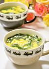 春雨とニラの卵スープ