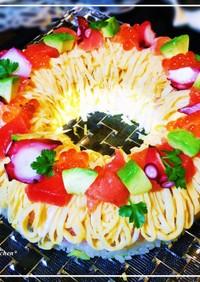 ✿リング型でケーキ寿司✿