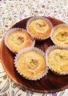 砂糖不使用☆米粉のふんわりバナナマフィン