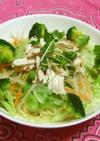 野菜たっぷり!サラダラーメン