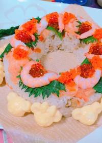 ちらし寿司ケーキ♡誕生日・雛祭りに