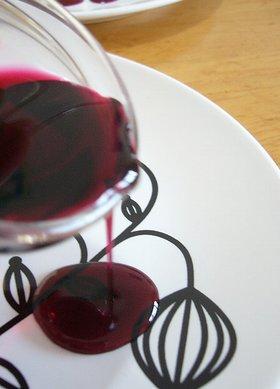 赤ワインシロップ。