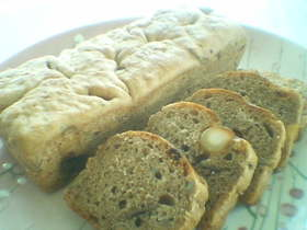 カシューナッツのライ麦パン