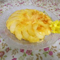 リンゴのフライパンケーキ