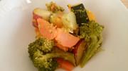 ココナッツオイルの野菜炒めの写真