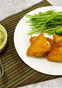 白身魚のフライと手作りタルタルソース