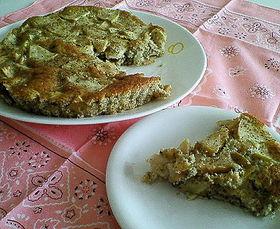 紅茶と林檎のケーキ