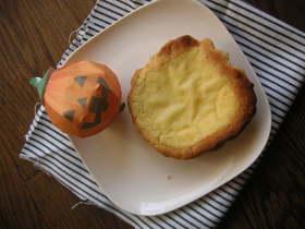ミキサーで簡単●薩摩芋チーズケーキタルト