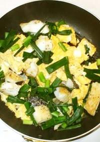 魚・タラと卵の炒めもの♪簡単