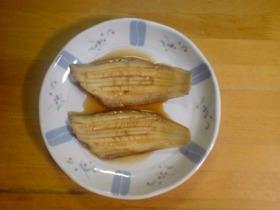 我が家の定番~白身魚の煮付け