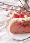 ふわしゅわ♡失敗なし♡桜シフォンケーキ