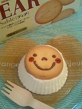 にっこり笑顔のDEARチーズケーキ♪