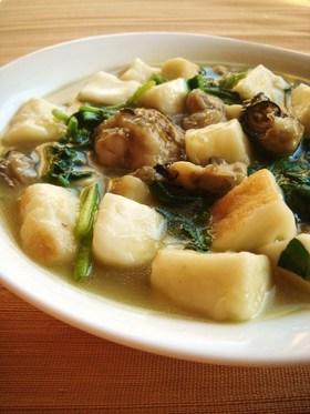 牡蠣とはんぺんのとろ~り中華煮