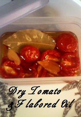 ナポリ風♪セミ・ドライ・トマト