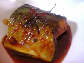 鯖のトウバンジャン照り煮