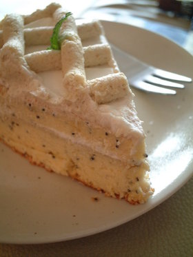 シフォン生地で♪マロンのケーキ