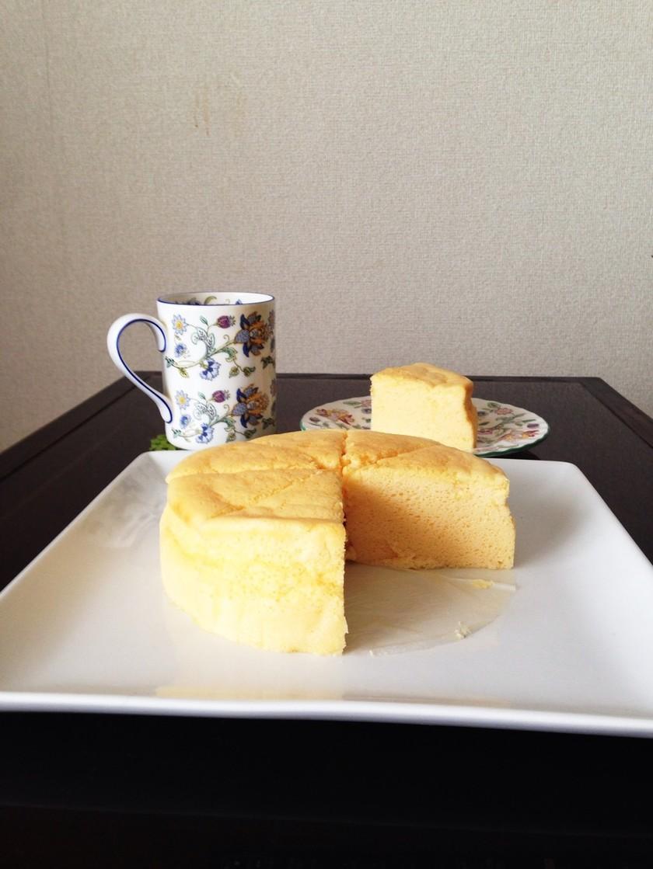 【ヘルシオ】絶対膨らむスフレチーズケーキ