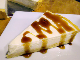【糖質制限】おから生地のレアチーズケーキ