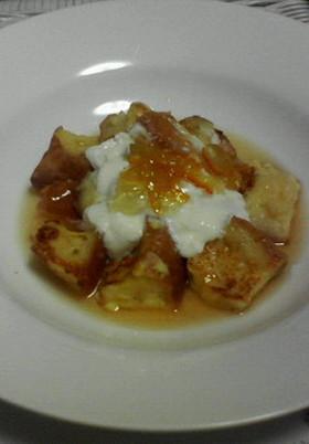 サイコロ・フレンチ・トースト