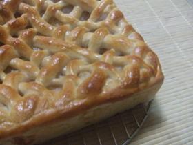 ■ホシノ■ アップルパイ風りんごパン