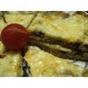 とろとろチーズのオープンオムレツの写真