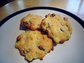 リンゴとレーズンのクッキー