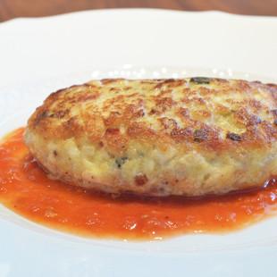 イタリア風豆腐ハンバーグ
