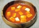 【簡単】ピリ辛!コチュトマ豆腐スープ