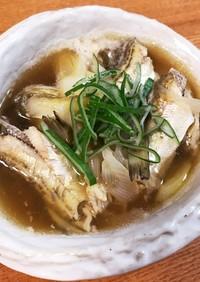 お鍋:ハタハタを薄味で煮る