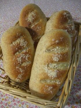 全粒粉入♡ふわふわチーズパン